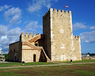 Fortaleza Ozama - Homage Tower in Ozama Fortress
