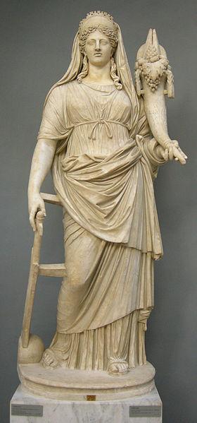 File:Fortuna, rielaborazione romana da originale greco del IV secolo ac. con testa non pertinente, da tor bovicciana (ostia), inv. 2244.JPG