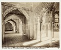 Fotografi av Granada. Alhambra, Sala del Tribunal de Justicia y Patio de los Leones - Hallwylska museet - 104837.tif