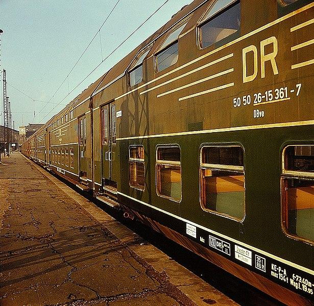DR Doppelstockwagen Dresden