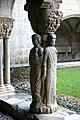 Four evangelists - Cloister - Cathedral of St-Bertrand-de-Comminges - France 2014 (5).JPG