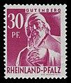 Fr. Zone Rheinland-Pfalz 1947 9 Johannes Gutenberg Denkmal in Mainz.jpg
