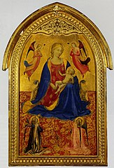 Madonna and Child with Four Аngels