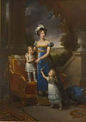 The Duchess of Berry and her Children (Gérard)
