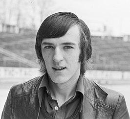 François Van der Elst bij de nationale ploeg (1977)