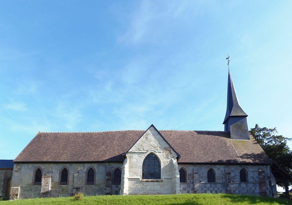 L'église Saint-Denis.