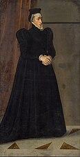 Erzherzogin Magdalena (1532-1590) in geistlichem Gewand in ganzer Figur