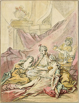 Harem - Image: Francois Boucher The Pasha in His Harem, c. 1735 1739 Google Art Project