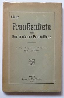 Frankenstein Roman Wikipedia