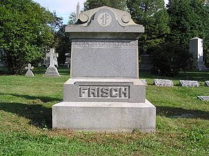 Frankie Frisch - The grave of Frankie Frisch