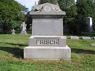 Frankie Frisch - The grave of Frankie Frisch