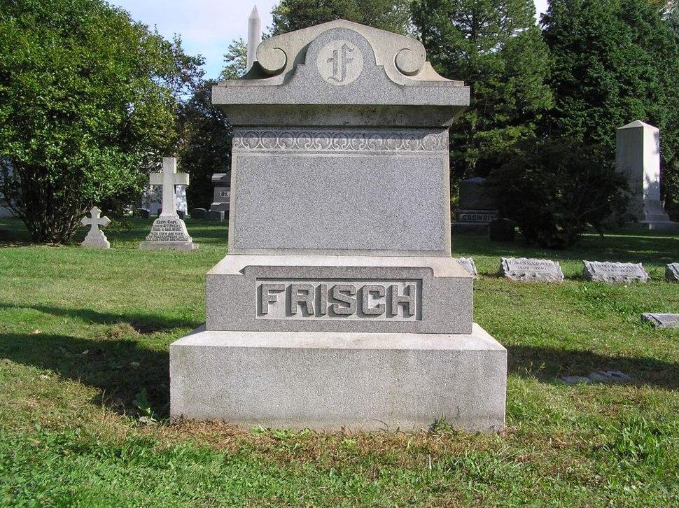 Frankie Frisch Headstone 1024