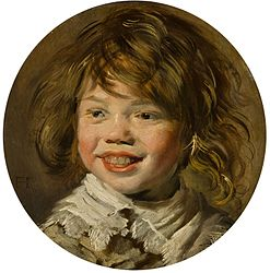 Frans Hals: Laughing boy