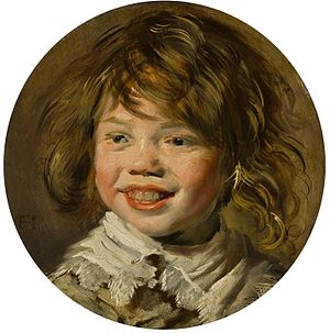 Laughing Boy with Flute - Image: Frans Hals Lachende jongen