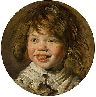 Laughing Boy with Flute - Image: Frans Hals Lachende jongen