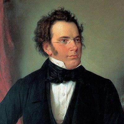 Franz Schubert by Wilhelm August Rieder 1875 cropped
