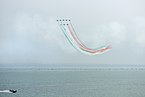 Frecce tricolori Air show Valtenesi del Garda Manerba 2.jpg