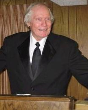 Fred Phelps - Phelps at his pulpit
