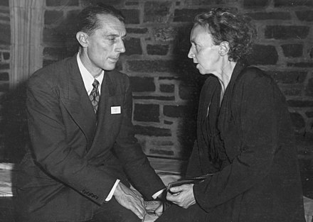The Joliot-Curies in the 1940s Frederic and Irene Joliot-Curie.jpg