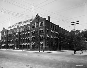 Frederick Stearns Building - Frederick Stearns Building, c. 1910