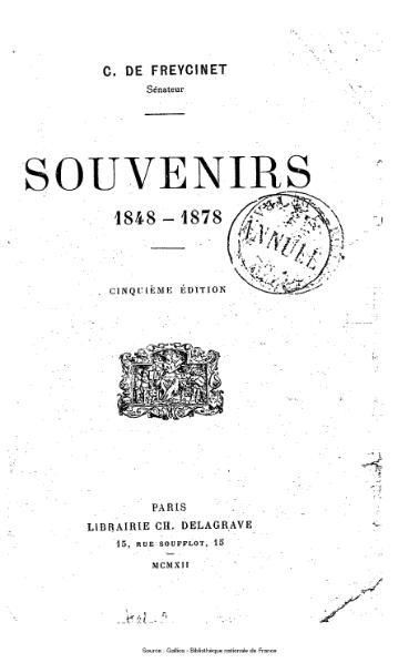 File:Freycinet - Souvenirs.djvu