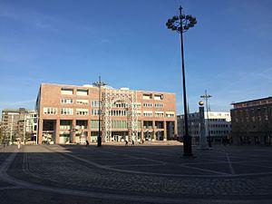 Friedensplatz Rathaus Dortmund