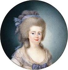 Friederike Dorothea von Brandenburg Schwedt, Herzogin von Württemberg (1780er-Jahre) (Quelle: Wikimedia)