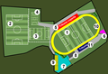 Frosinone Calcio - centro allenamento - Cittadella dello Sport - Ferentino - schema.png