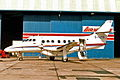 G-IJYS B.Ae Jetstream 32 Jackie Stewart MAN 17MAR94 (7000998477).jpg