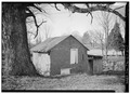 GENERAL VIEW OF SPRINGHOUSE FROM EAST - DeVault Tavern, Springhouse, Route 81, Leesburg, Washington County, TN HABS TENN,90-LEES,1A-1.tif