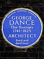 GEORGE DANCE The Younger 1741-1825 ARCHITECT lived and died here.jpg