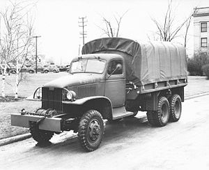 GMC CCKW 2½-ton 6x6 truck - CCKW 353 cargo truck with winch