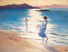 "Leamos, pues, el ""Ulises"" de James Joyce - Página 5 230px-G_W_Russell_Bathers"