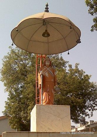 Gadge Maharaj - Gadge Baba Statue Nagpur