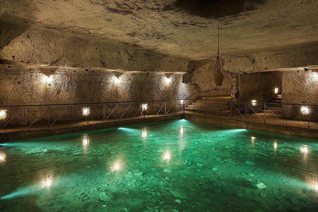 Galerie Borbonica souterraine à Naples - Associazione Culturale Borbonica Sotterranea