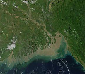 Il delta del Gange
