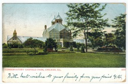 Garfield Park Conservatory, Chicago circa 1907 postcard (front).tiff