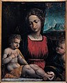 Garofalo's workshop - Madonna with the Child and St. John - Google Art Project (432726).jpg