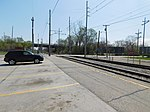 Gary Chicago Airport at Clark Road station (26041891293).jpg
