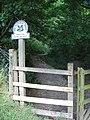 Gate into Malham Tarn Estate near Janet's Foss - geograph.org.uk - 275736.jpg
