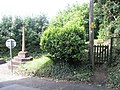 Gate to the War Memorial Garden at Porlock - geograph.org.uk - 933883.jpg