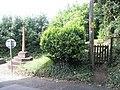 Gate to the War Memorial Garden at Porlock - geograph.org.uk - 933883.jpg