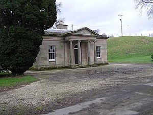 Drenagh - The West Gate to the Drenagh Estate, designed by Charles Lanyon