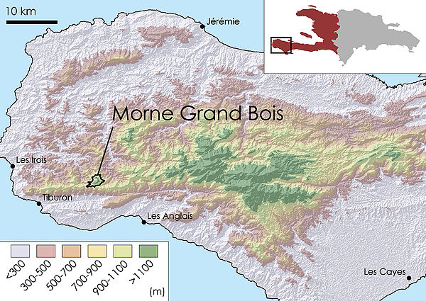 Topographic Map Of Haiti.Grand Bois National Park Wikiwand