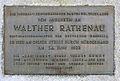 Gedenktafel Koenigsallee 16 (Grunew) Walther Rathenau.JPG