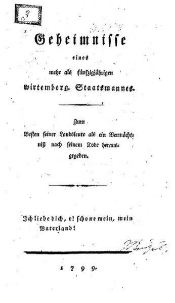 File:Geheimnisse eines wirtembergischen Staatsmannes.djvu
