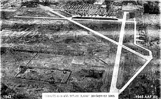 Spokane International Airport - Geiger Field in 1943