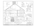 General Cyrus French House, Kingstown Road (State Route 138) and College Road, Kingston, Washington County, RI HABS RI,5-KING,2- (sheet 6 of 11).png