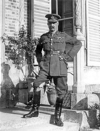 Henry Rawlinson, 1st Baron Rawlinson - General Sir Henry Rawlinson, Bt, at Fourth Army HQ, Querrieu Chateau, July 1916