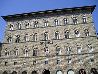 Assicurazioni Generali - Palazzo delle Assicurazioni Generali in Florence, Italy